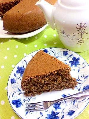 炊飯器&ホットケーキミックスで♪カフェオレケーキ