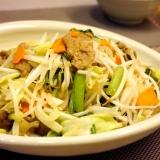 ダイズラボ・大豆のお肉でヘルシー肉野菜炒め