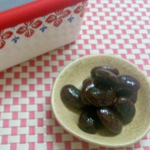 煮豆~紫花豆~
