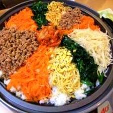 韓国料理の代表「ビビンバ」献立