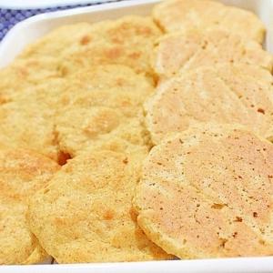 【糖質制限】もっちりホットケーキみたいな卯の花パン