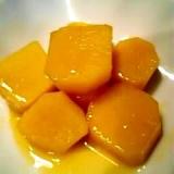 甘酸っぱいサツマイモのオレンジジュース煮♪