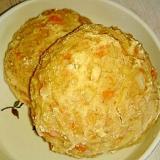 ホケミで☆人参と新玉ねぎのソース焼きそばパン
