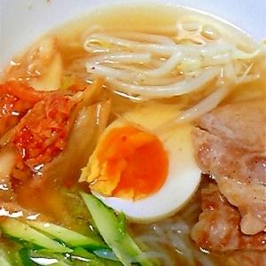 糖質制限ダイエットに!しらたきで韓国冷麺風!