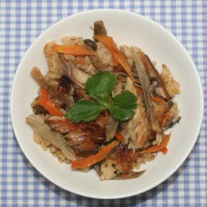 簡単絶品☆炊飯器☆サバの干物でサバ味噌炊き込みご飯