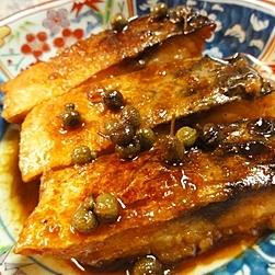 鯖の簡単甘辛山椒煮