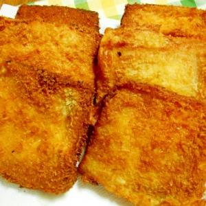 食パンと残りカレーで【揚げカレーパン】