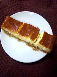 簡単NYチーズケーキ★ルクエ×オーブン