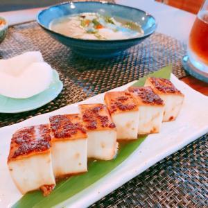 旨味たっぷり♡豆腐の醤油麹漬け焼き