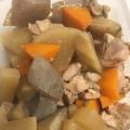 鶏モモ肉の簡単煮物 筑前煮風