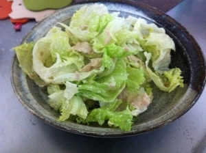 簡単!ツナレタスサラダ