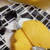 簡単混ぜるだけ(^^)カボチャのレアチーズケーキ♪