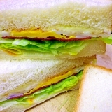切り方ひとつでふたつがみっつ…増える幸せ生サンド