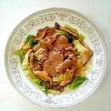 焼肉のタレで☆牛肉とキャベツの炒め物☆