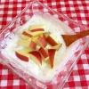 りんごとチアシードのヨーグルト♡