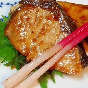 サッと和食♪ 「ブリの生姜たっぷり照焼」