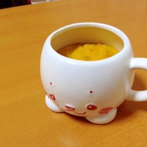 バナナと南瓜のミルク煮(^o^)離乳食