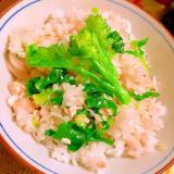 チーマディラーパと鶏ささ身の黒七味混ぜ麦ご飯