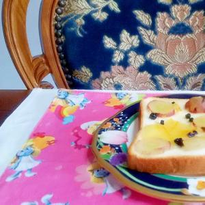 巨峰のトースト