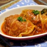 ロール白菜のトマトジュース煮