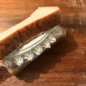 食パン バナナオムレット♪