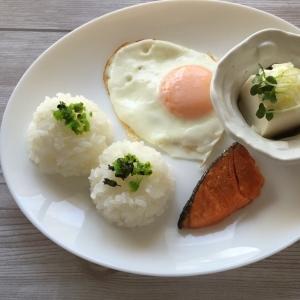 和朝食のワンプレート♪