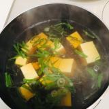 簡単!豆腐のおすまし