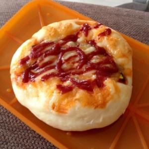 レンジ発酵‼  手捏ねでシンプルチーズパン