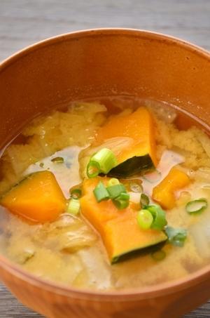 南瓜の味噌汁