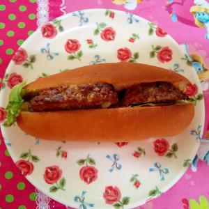 レタスハンバーガー