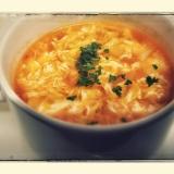 【あったかスープ】ふんわり卵のミネストローネ