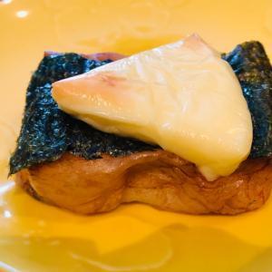 とろ〜りチーズののった磯辺餅☆