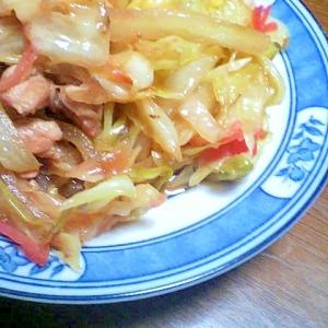 焼肉のたれで作る野菜炒め
