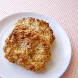トースターで超簡単♪きなごまオートミールクッキー