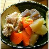 鶏肉と根菜の塩麹煮
