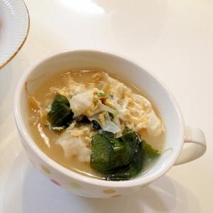 とんこつワンタンスープ