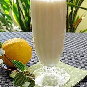 レモンのミルク