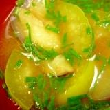 2種なす・浅葱の味噌汁