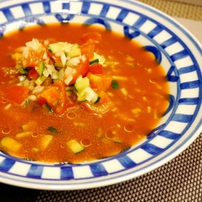 食欲のない日の助けメニュー!冷たいスープでさっぱり