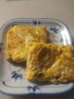 納豆の卵焼き