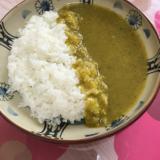 ルーなしで小松菜カレー