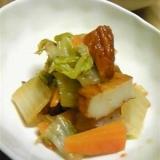 白菜とさつま揚げの煮物☆簡単