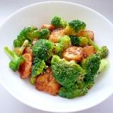 ブロッコリーと豆腐のオイスターソース炒め