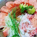 北海駅弁風海鮮丼