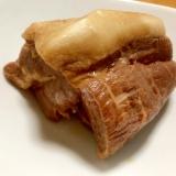 林檎と煮込んでウマウマ煮豚( *´艸`)