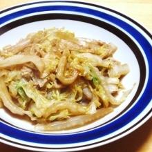 シンプルな白菜が油揚げでジューシーに☆白菜炒め