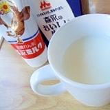 自宅でカクテル風☆さっぱりミルキーヨーグルト焼酎