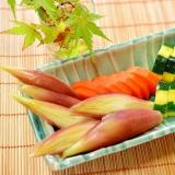 夏野菜♪ズッキーニと茗荷の☆糠漬け