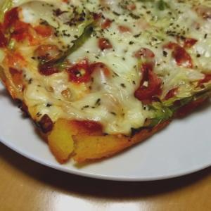 簡単で栄養バランスOK☆ピザ風パン