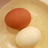 魚焼きグリルで!ゆで卵